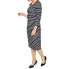 Eastex - Meadow Grain Stripe Midi Dress