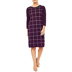 Eastex - Knitted Check Dress
