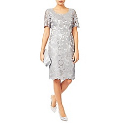 Jacques Vert - Cross Hatch Lace Shift Dress