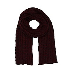 Dash - Cherry Cable Scarf