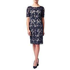 Jacques Vert - Petite Lace Contrast Dress