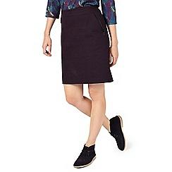 Dash - Wine Sateen Skirt