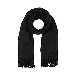 Dash - Black Blanket Scarf