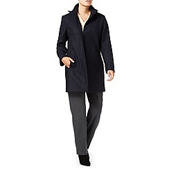 Eastex - Buckle Neck Wool Coat