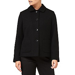 Eastex - Textured Button Up Jacket