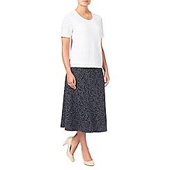 Eastex - Texture Jacquard Ponte Skirt