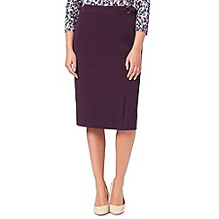 Eastex - Plum Melange Skirt