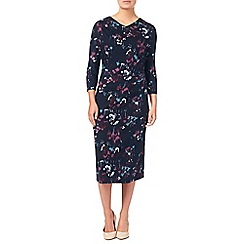 Eastex - Rossmoor Blooms Print Dress