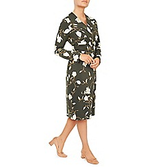 Eastex - Magnolia Print Midi Dress