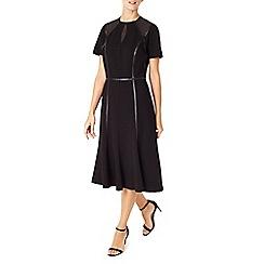 Jacques Vert - Detail Trim Edge Mesh Midi Dress