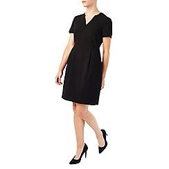 Precis - Jeff Banks Black Notch Dress