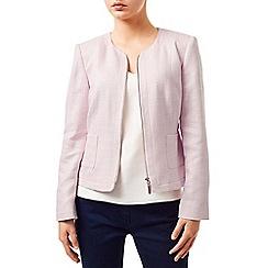Precis - Eva Zip Front Textured Jacket