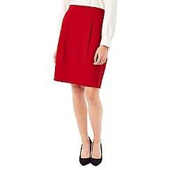 Precis - Jeff Banks Red Crepe Skirt