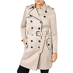 Jacques Vert - Contrast Trim Trench