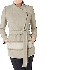 Jacques Vert - Asymmetric Colour Block Coat