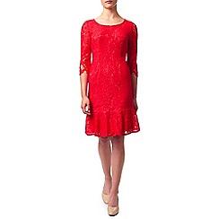 Jacques Vert - Petite Peplum Lace Dress