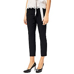 Jacques Vert - Black Pin Tuck Trousers