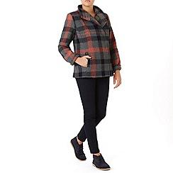 Dash - Check Wool Coat
