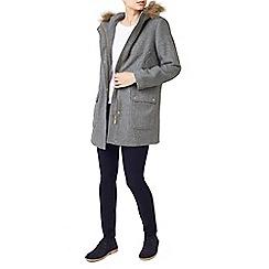 Dash - Luxury Wool Hood Parka