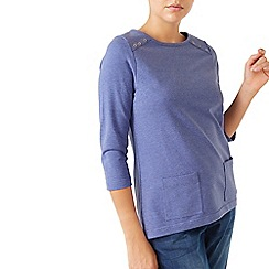 Dash - Jersey Patch Pocket Top