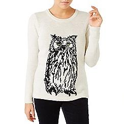 Dash - Owl Intarsia Jumper