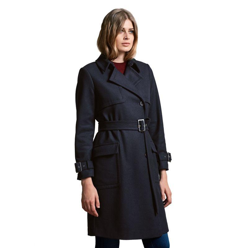 Windsmoor Wool Trench Coat