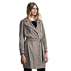 Windsmoor - Suedette Trench Coat