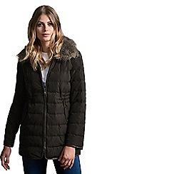 Windsmoor - Pu Trim Collar Down Coat