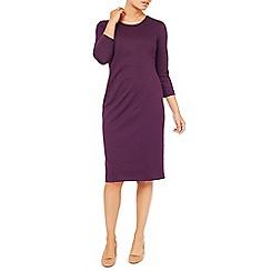 Eastex - Ponte Pleat Waist Dress