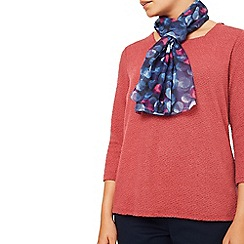 Eastex - Large Painterley Spot Scarf