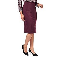 Eastex - Textured Ponte Pencil Skirt