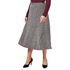 Eastex - Tweed A Line Skirt Shorter