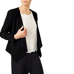 Jacques Vert - Crepe Drape Front Jacket