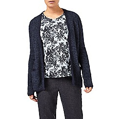 Eastex - Navy Boucle Cardigan