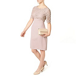 Jacques Vert - Petite Lace Top Dress