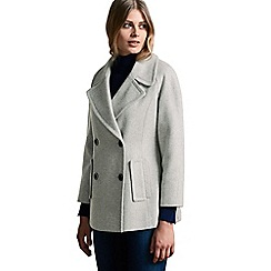 Windsmoor - Pu Trim Pea Coat