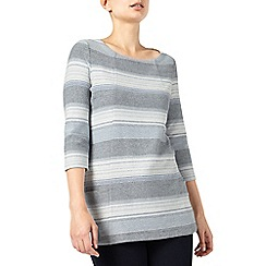 Dash - Stripe Textured Tunic