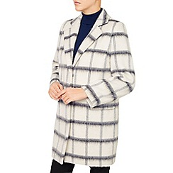Jacques Vert - Oversized Check Coat