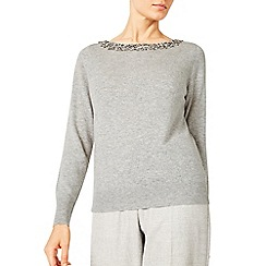 Jacques Vert - Bling Neck Detail Jumper