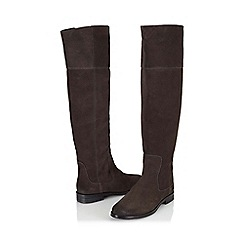 Jacques Vert - Suede Over The Knee Boot