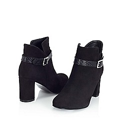 Jacques Vert - Buckle Trim Ankle Boot