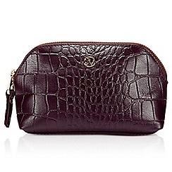Jacques Vert - Leather Make Up Bag