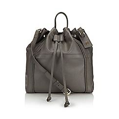 Jacques Vert - Drawstring Leather Bag