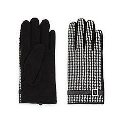 Jacques Vert - Dogtooth Wool Glove
