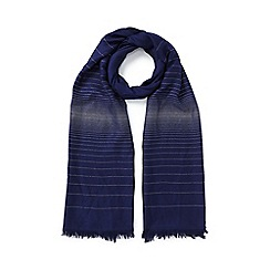 Jacques Vert - Two Tone Lurex Scarf
