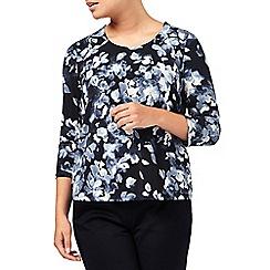 Eastex - Mono Watercolour Floral Top
