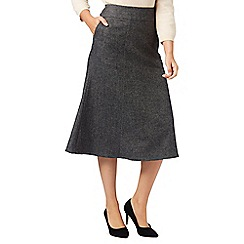 Eastex - Charcoal Wool Skirt
