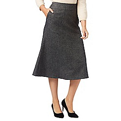 Eastex - Charcoal Wool Skirt Short