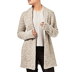 Eastex - Shawl Collar Boucle Cardigan