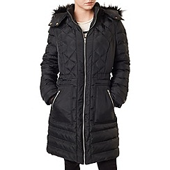 Precis - Gracie Faux Fur Collar Coat